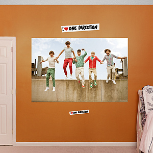 One Direction: Jump Mural